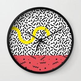 Memphis Style N°1 Wall Clock