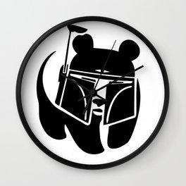 Pandalorian Wall Clock