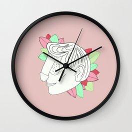 Dickface IV Wall Clock