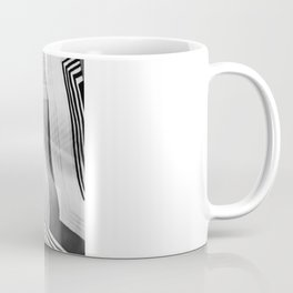 Modern Zebra Abstract Coffee Mug
