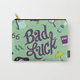 Bad Luck Carry-All Pouch