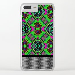 Space Rug No.04 Clear iPhone Case