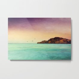 Glowing Mediterranean Metal Print