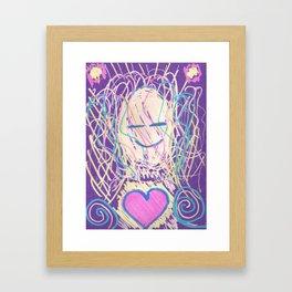 warm soul Framed Art Print
