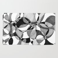 doodle Area & Throw Rugs featuring Doodle by DeMoose_Art