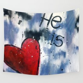 He is Love Wall Tapestry