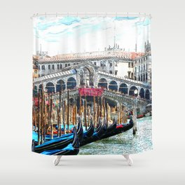 Venice_20170601_by_JAMFoto Shower Curtain