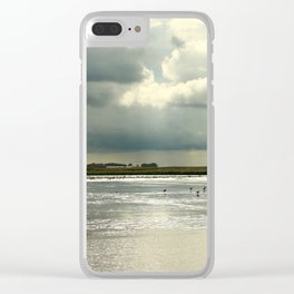 River Scene Clear iPhone Case