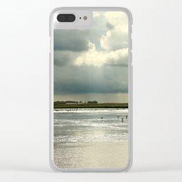 River Scene Clear iPhone Case