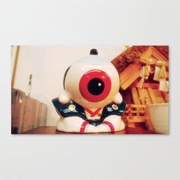 Samurai eye Canvas Print