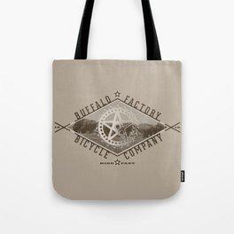 BUFFALO FACTORY Bicycle Company  Tote Bag