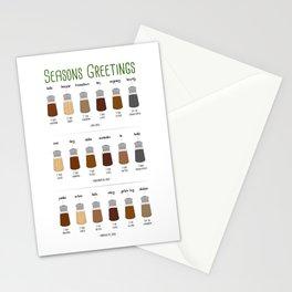 Sweet Seasons Greetings Stationery Cards