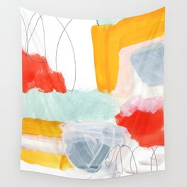 abstract painting XVI Wall Tapestry