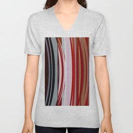 Abstract Composition 651 Unisex V-Neck