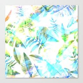 Tropical Leaf llV Canvas Print