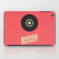 records iPad Cases featuring Empire Records by mattranzetta