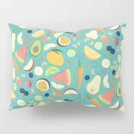 Eat your fruit and vegetables Pillow Sham