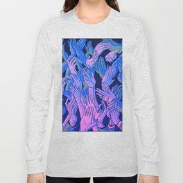 Hand Aesthetic Long Sleeve T-shirt