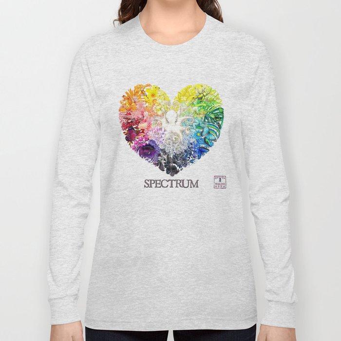 Spectrum Rainbow Heart Long Sleeve T-shirt