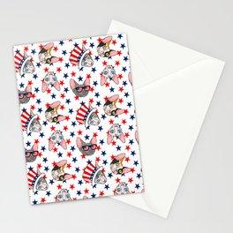 patriotic sphynx stars Stationery Cards