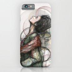 Beauty Illustration Beautiful Woman Feminine Portrait iPhone 6s Slim Case