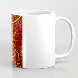 Psychedelic Susan 003, Sunflowers Coffee Mug