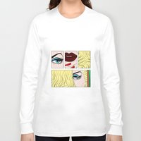 make up Long Sleeve T-shirts featuring make up by snsemstlcp