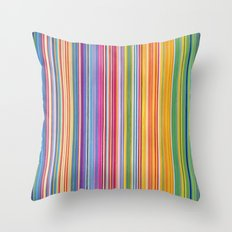STRIPES 13 Throw Pillow