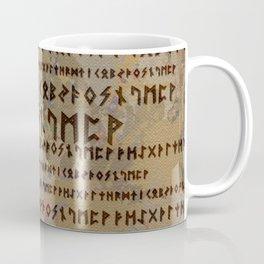Runic alphabet Coffee Mug