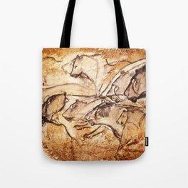 Panel of Lions // Chauvet Cave Tote Bag