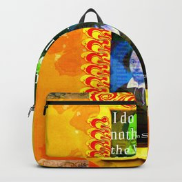 William Shakespeare Romantic LOVE Quote Backpack