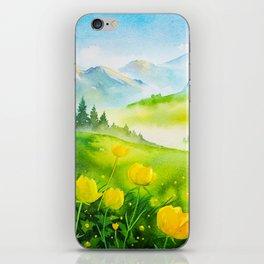 Spring scenery #5 iPhone Skin