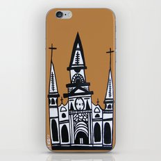 I Heart St. Louis Cathedral  iPhone & iPod Skin