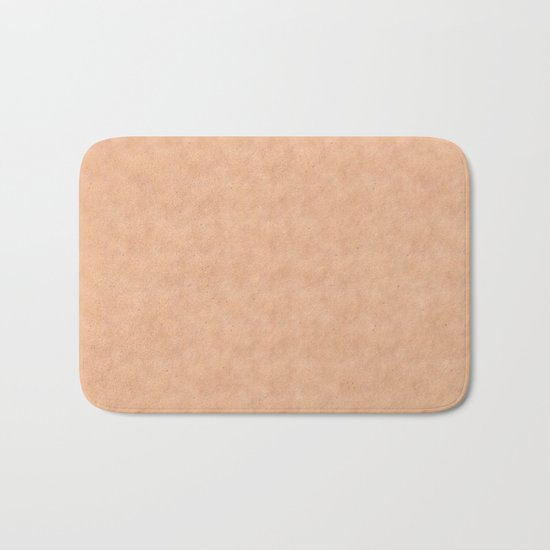 Skin Style Texture With Freckles Bath Mat