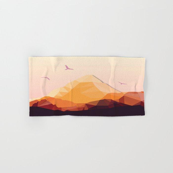 Night Mountains No. 25 Hand & Bath Towel