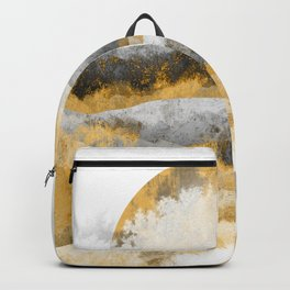 The golden misty peaks Backpack