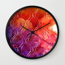 Bold Marrakech Wall Clock