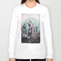 dj Long Sleeve T-shirts featuring DJ by Ali GULEC