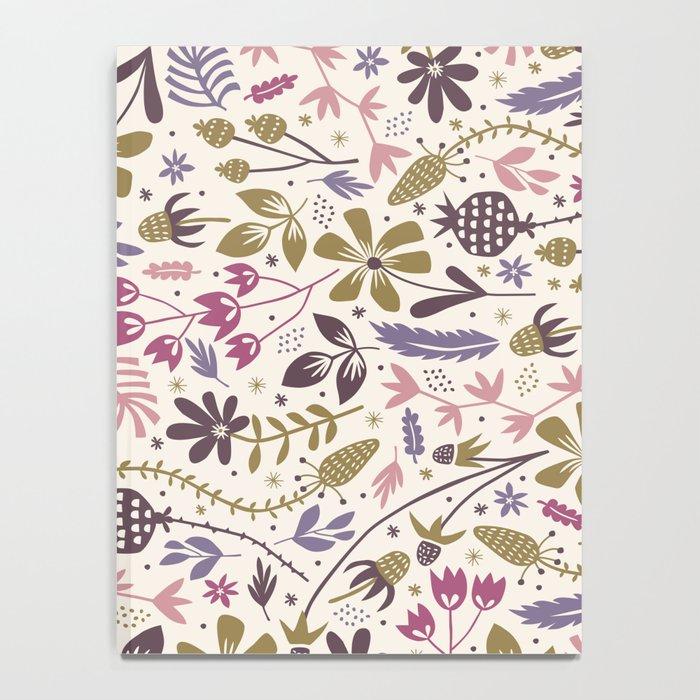 Vintage Blooms Notebook