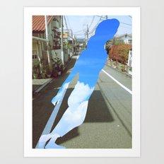 skygirl Art Print