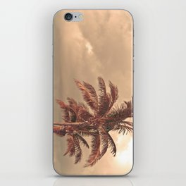 Retro Palm Tree iPhone Skin