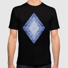 Crystal Kaleidoscope Mens Fitted Tee Black MEDIUM