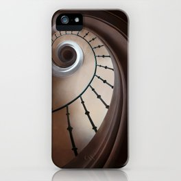 Pretty brown staircase iPhone Case