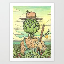 The Hallowed Land of the Monterey Bay Art Print