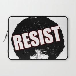 Angela Davis - Resist (black version) Laptop Sleeve