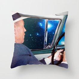 night driving Throw Pillow