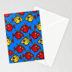 Plenty fish in the sea Stationery Cards