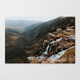 Autumn falls - Landscape and Nature Photography Canvas Print