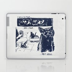 I Watch You Poop... and I Judge Laptop & iPad Skin