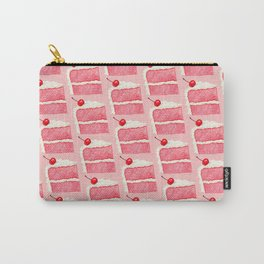 Cherry Cake Pattern - Pink Carry-All Pouch